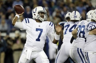 Brissett shows some promise, but Colts still miss Luck