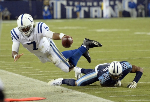 Jacoby Brissett shows some promise, but Colts still miss Andrew Luck