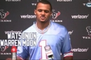 Deshaun Watson on Warren Moon   Texans Inside The Game