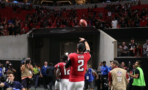 Falcons fall 7 spots in latest USA Today Power Rankings