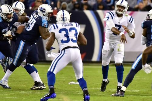 Colts Week 6 Snap Counts vs. Titans