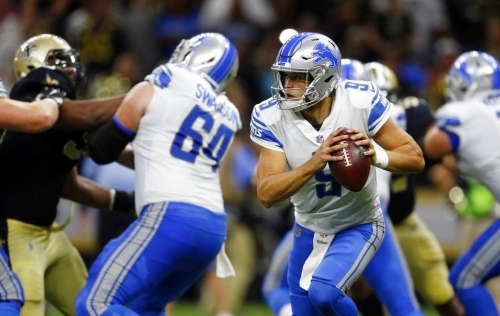 Matthew Stafford, Anthony Zettel, Glover Quin among 10 starters missing practice