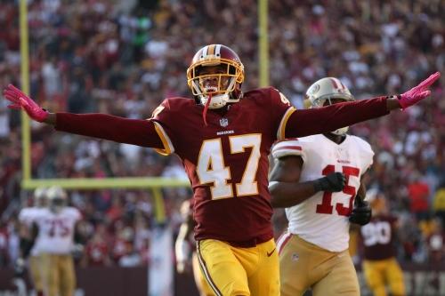 Skins Stats & Snaps: 49ers @ Redskins (DEF/ST)