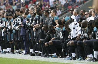 Jacksonville Jaguars apologize for national anthem demonstration