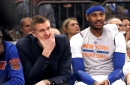 Kristaps Porzingis: I'll guard Carmelo, but it won't be easy