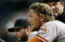 The Giants are still counting on contributions from Hunter Pence