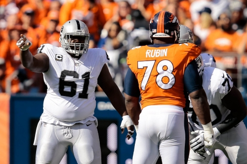 Broncos cut DL Ahtyba Rubin, place OL Billy Turner on injured reserve