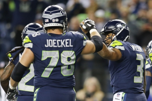 Luke Joeckel injury: Seahawks will be without starting left guard for at least 4-5 weeks