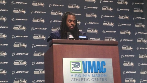 Seahawk Richard Sherman on if NFL has colluded to keep out Colin Kaepernick: 'They had a point to make and they made it'