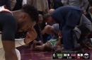 Report: Gordon Hayward suffers ankle injury in Boston debut