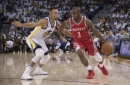 Rockets beat Warriors as James Harden, bench lead wild comeback on opening night