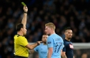 Man City player Kevin De Bruyne speaks about his half time row with David Silva