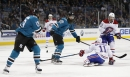 Three takeaways: Sharks' big dogs eat their dinner in win over Habs