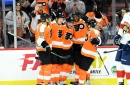 Flyers score four in the second, blast Panthers 5-1