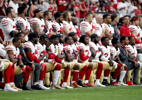 """Opinion: Why the NFL's """"shut up and play"""" rule on kneeling is wrong"""