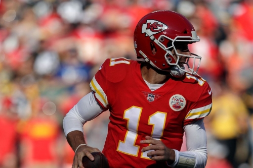 Chiefs' Alex Smith points out Steelers' Mike Mitchell is a repeat offender