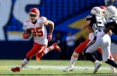 Chiefs rule 3 players out for Raiders game, including Charcandrick West
