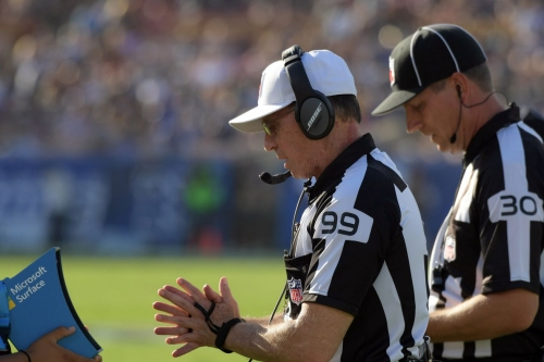 Referee involved in controversial Patriots-Jets game gets assigned to Seahawks-Giants