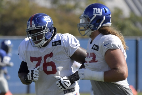 How a heart-to-heart and a 345-pounder turned Giants' run game