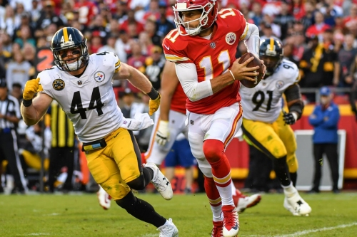 Chiefs offensive trends from the Steelers game