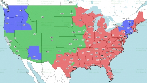 Will Broncos' game against the Chargers be on TV?