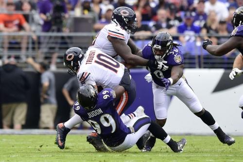 Chicago Bears Sackwatch 2017: Week 6 vs Baltimore Ravens