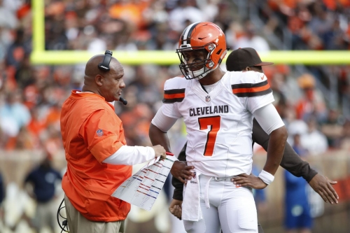 Browns go back to DeShone Kizer at quarterback, but what's next?