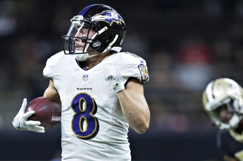 Report: Ravens expected to sign WR Griff Whalen