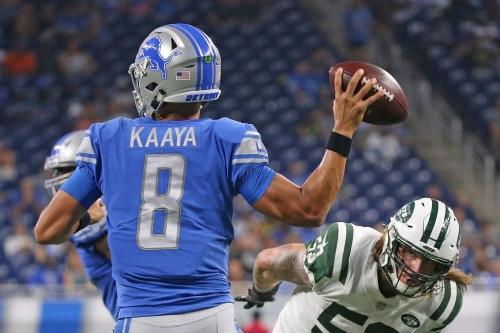 Lions claim QB Brad Kaaya, sign OT Bryce Harris, cut 3 defensive linemen