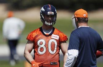 Shane Ray, Jake Butt make '17 debut at Broncos practice