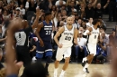 Minnesota at San Antonio, Final Score; Spurs overpower the Timberwolves on opening day