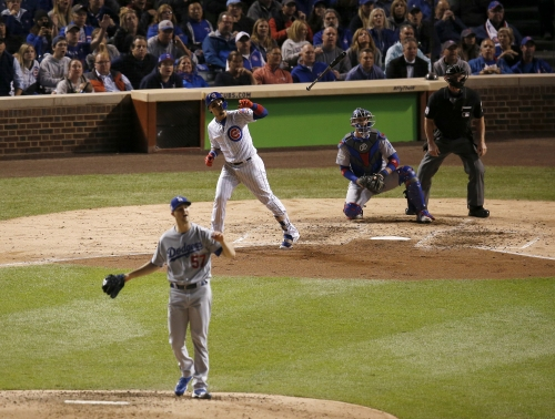 Cubs deny Dodgers' bid to sweep their way into World Series