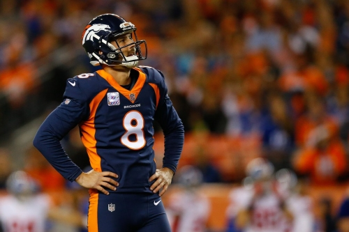 """Brandon McManus """"disappointed"""" in his play so far"""