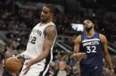 Spurs start strong, finish stronger in season-opening win over Wolves