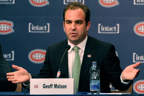 Thursday Habs Headlines: Montreal Canadiens owner Geoff Molson still optimistic about his team