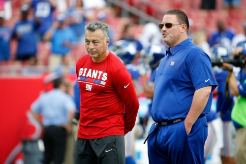 """New York Giants news, 10/19: """"Not much different"""" for Manning with Sullivan calling plays"""