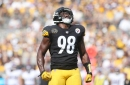 Vince Williams gives Steelers fans an inside look at the team locker room via Twitter