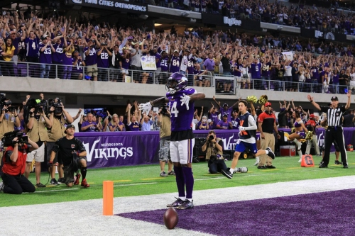 Ravens are 5.5 point underdogs in Minnesota