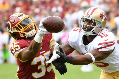 The Redskins' young defensive backs are stepping up in relief of injured starters