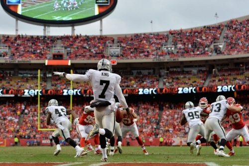 Chiefs vs. Raiders time, stream, TV schedule, channel, picks, odds, announcers and more