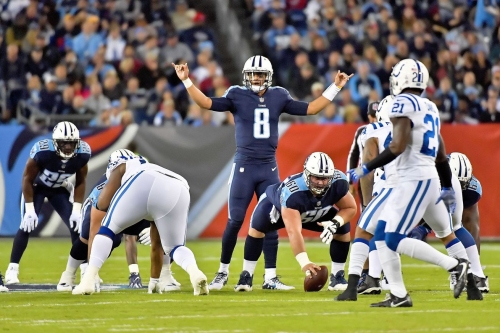 Marcus Mariota was the best quarterback in the NFL week 6 (and always)