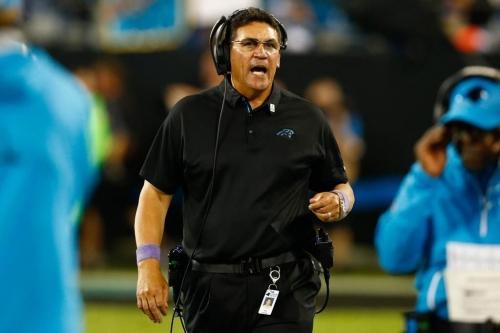 Ron Rivera has thrived amid the turbulence with the Carolina Panthers