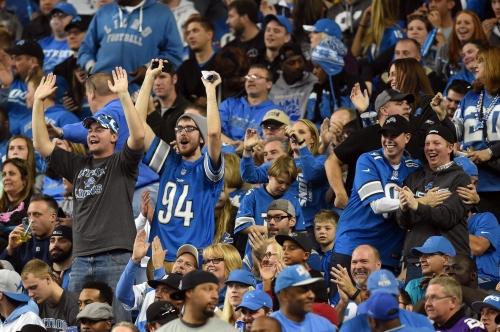 Lions' fan base leans Democrat more than 30 NFL teams, poll says