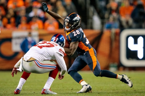 Vance Joseph wants Jamaal Charles to get 'more and more touches'
