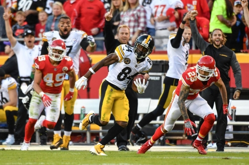 Steelers Film Room: Antonio Brown's success vs. the Chiefs could carry over against a similar Bengals defense