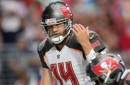 Ryan Fitzpatrick getting 1st-team reps as Bucs practice without Jameis Winston