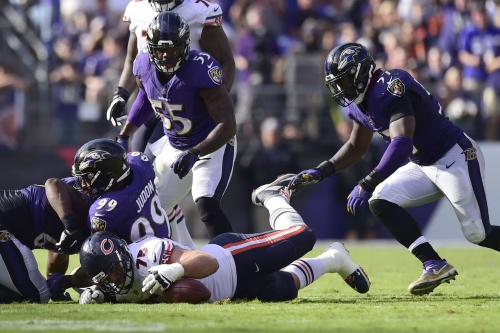 10 Ravens miss Thursday's practice: C.J. Mosley and Jeremy Maclin wearing non-contact jerseys