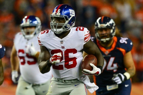 Can Orleans Darkwa, Giants' running game keep this up?