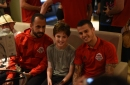 Photo Essay: Toronto FC make annual visit to SickKids Hospital