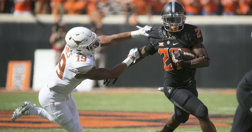 """Texas set to play more defenders with Oklahoma State's """"hair on fire"""" offense in town"""